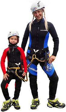 Canyoning outfit